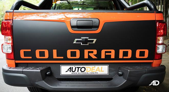2020 Chevrolet Colorado rear exterior