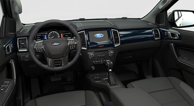 2020 Ford Everest Sport dashboard
