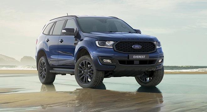 2020 Ford Everest Sport Deep Crystal Blue