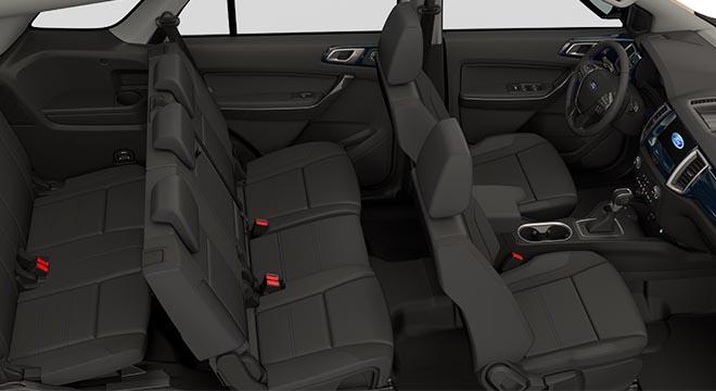 2020 Ford Everest Sport Interior