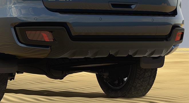 2020 Ford everest sport rear bumper