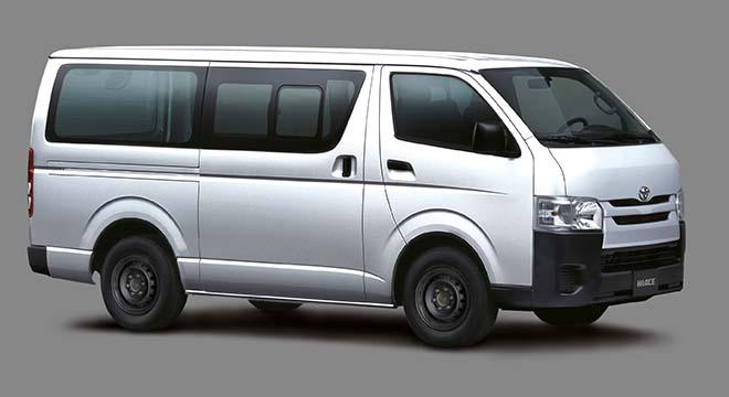 2020 Hiace Cargo exterior side Philippines