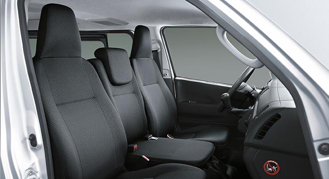 2020 Hiace Cargo interior front seats Philippines