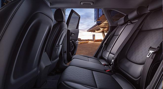 2020 Kia Seltos rear seats