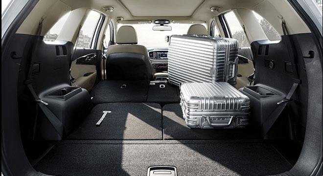 2020 Kia Sorento luggage space