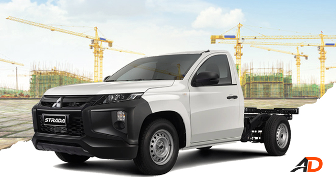2020 MItsubishi Strada cab and chassis