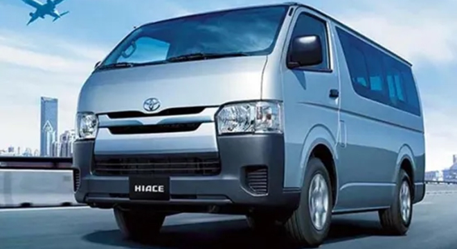 2020 Toyota Hiace Cargo exterior front Philippines
