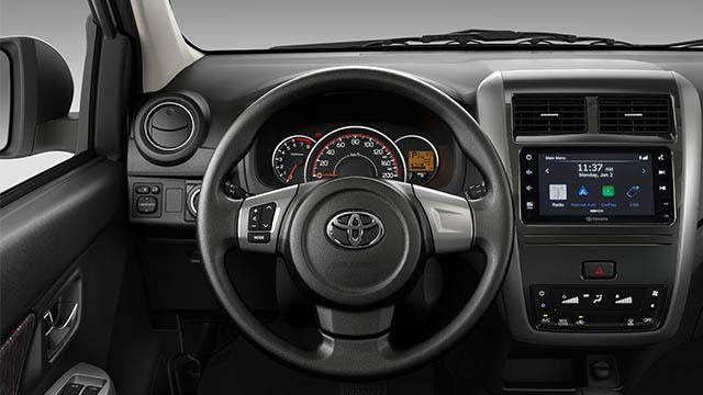 2020 Toyota Wigo G dashboard
