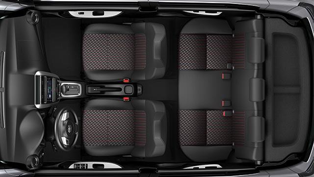 2020 Toyota Wigo G interior