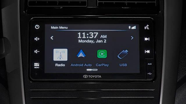 2020 Toyota Wigo TRD S infotainment