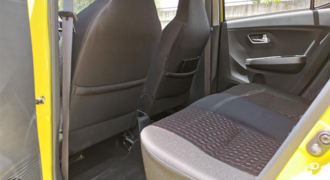 2020 Toyota Wigo TRD S passenger seat