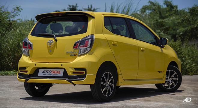 2020 Toyota Wigo TRD S rear quarter