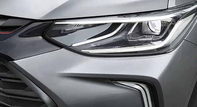 2021 Chevrolet Tracker headlight
