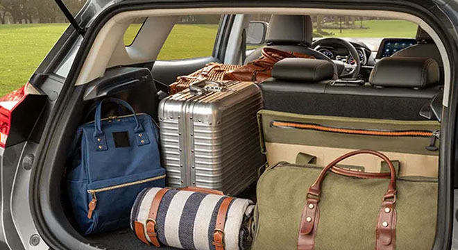 2021 Chevrolet Tracker trunk space