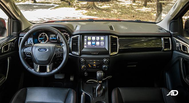 2021 Ford Ranger FX4 interior dashboard Philippines