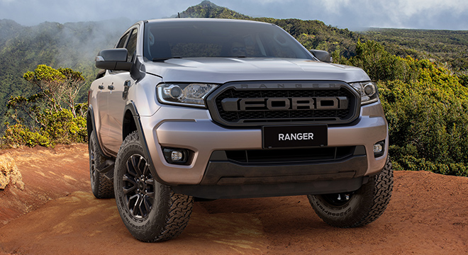 2021 Ford Ranger FX4 Max exterior front Philippines