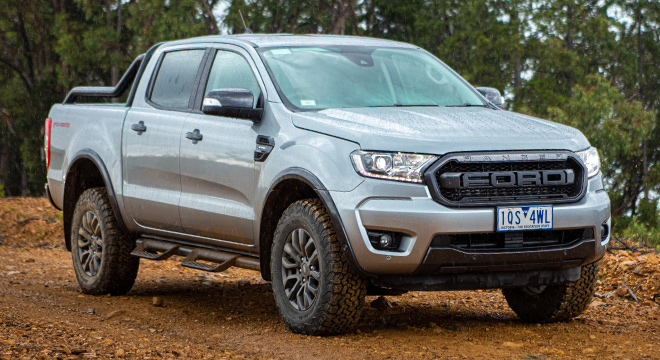 2021 Ford Ranger FX4 Max exterior quarter front Philippines