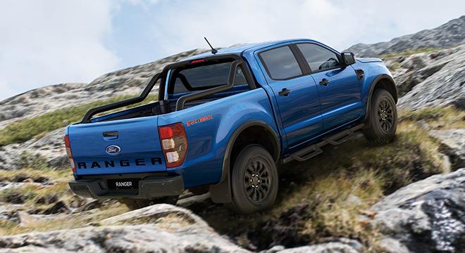 2021 Ford Ranger FX4 Max exterior quarter front Philippines