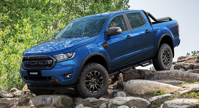 2021 Ford Ranger FX4 Max exterior side Philippines