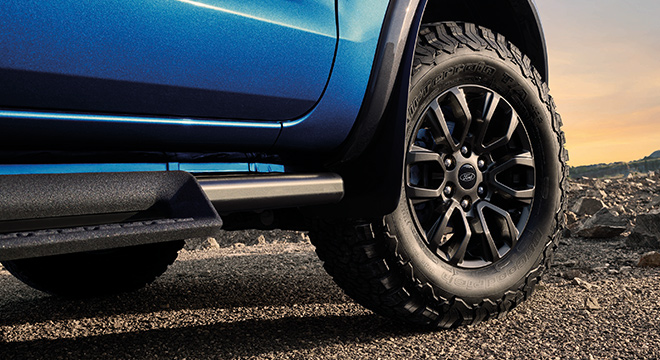 2021 Ford Ranger FX4 Max exterior wheels Philippines