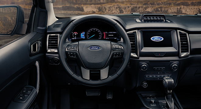 2021 Ford Ranger FX4 Max interior dashboard Philippines