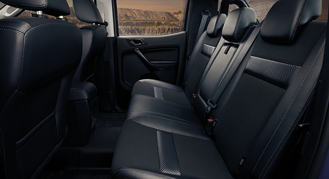 2021 Ford Ranger FX4 Max interior rear seats Philippines