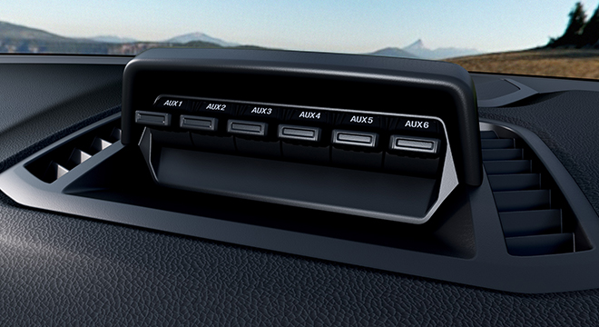 2021 Ford Ranger FX4 Max interior switches Philippines