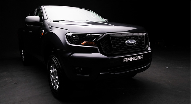 2021 Ford Ranger XLS exterior front Philippines