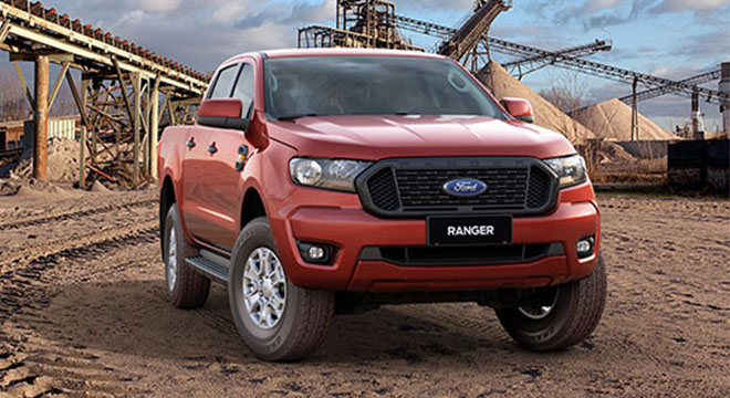 2021 Ford Ranger XLS front quarter philippines