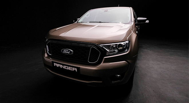 2021 Ford Ranger XLT exterior front Philippines
