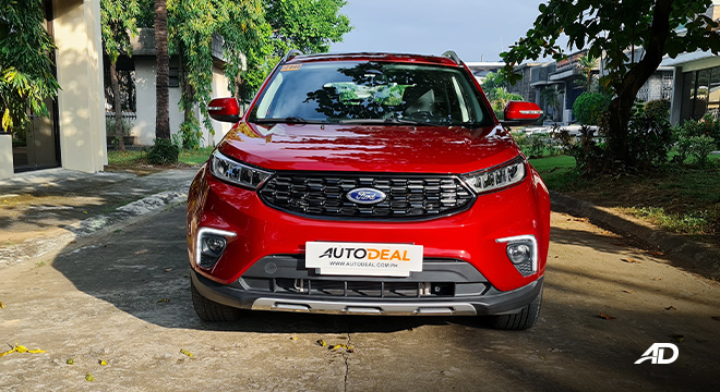 2021 Ford Territory Trend exterior front Philippines