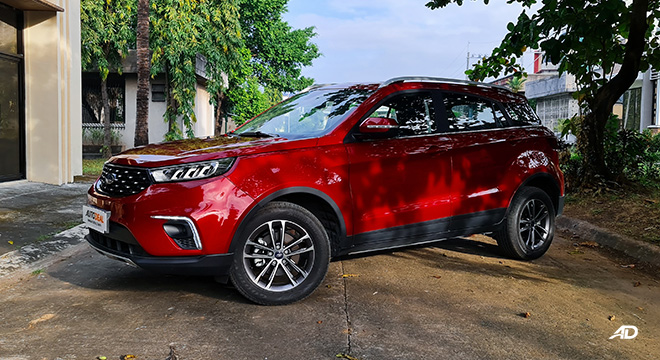 2021 Ford Territory Trend exterior quarter front Philippines
