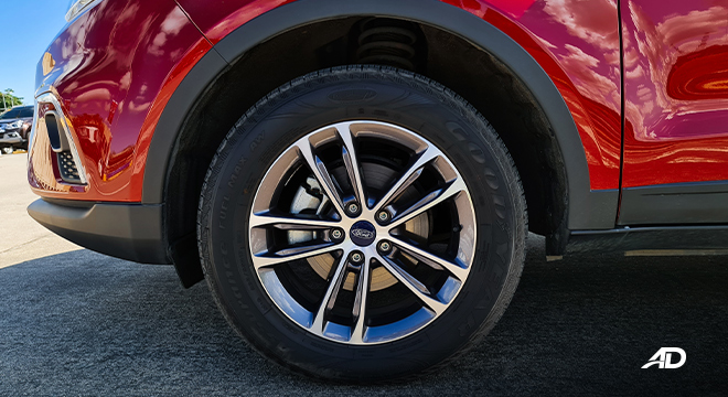 2021 Ford Territory Trend exterior wheels Philippines
