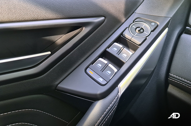 2021 Ford Territory Trend interior buttons Philippines