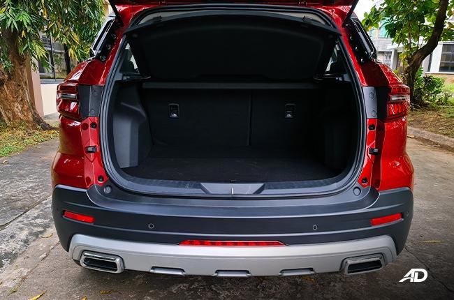 2021 Ford Territory Trend interior cargo Philippines