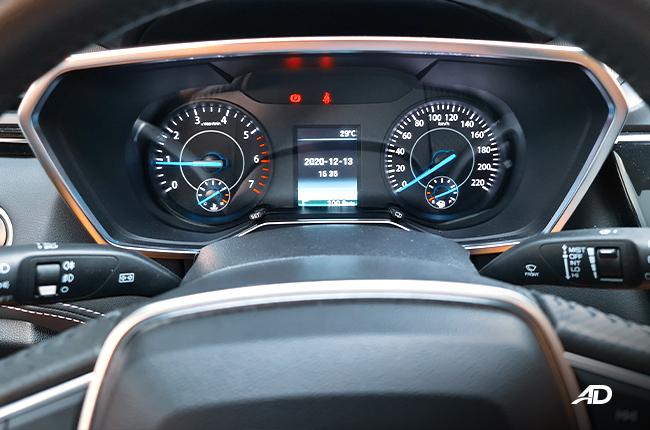 2021 Ford Territory Trend interior gauges Philippines