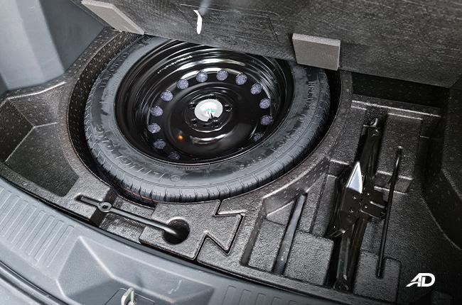 2021 Ford Territory Trend interior spare tire Philippines