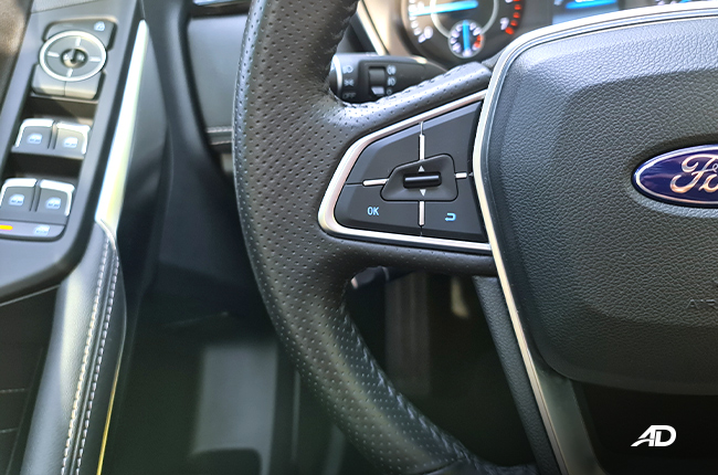 2021 Ford Territory Trend interior steering wheel controls Philippines