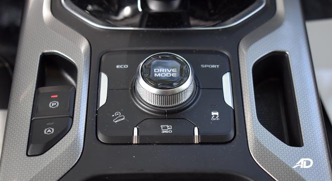 2021 Geely Okavango interior driving mode Philippines