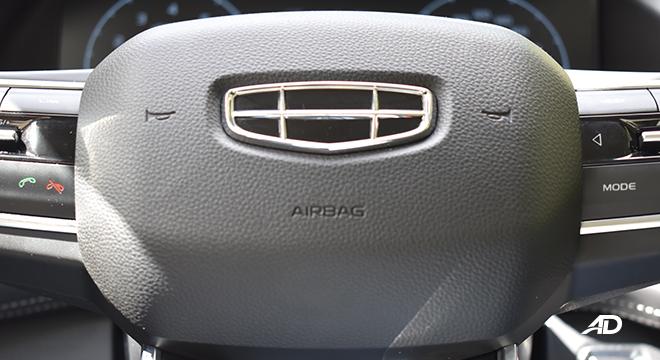 2021 Geely Okavango interior steering wheel Philippines
