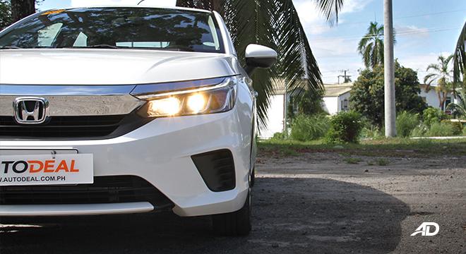 2021 Honda City V exterior headlights Philippines