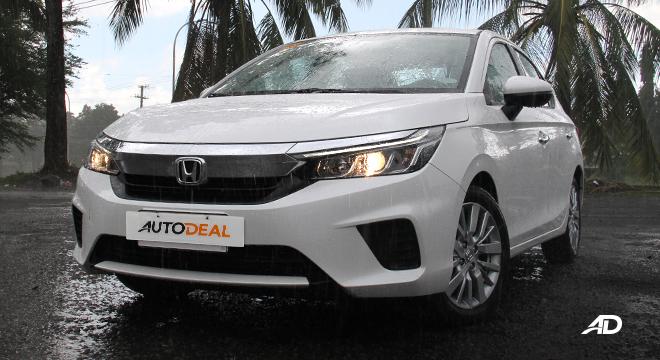 2021 Honda City V exterior quarter front Philippines