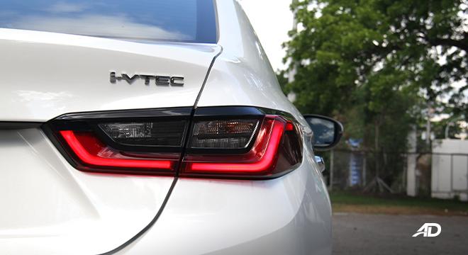 2021 Honda City V exterior taillights Philippines