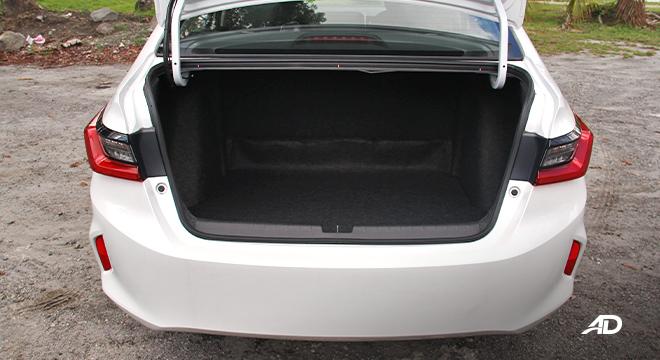 2021 Honda City V exterior trunk Philippines