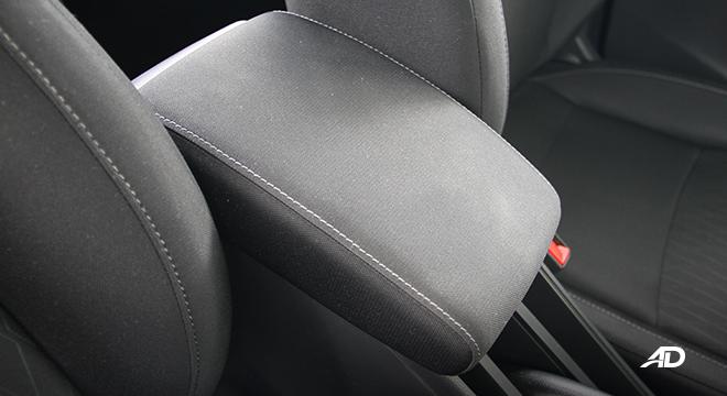 2021 Honda City V interior center armrest Philippines