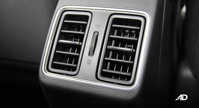 2021 Honda City V interior rear air vents Philippines
