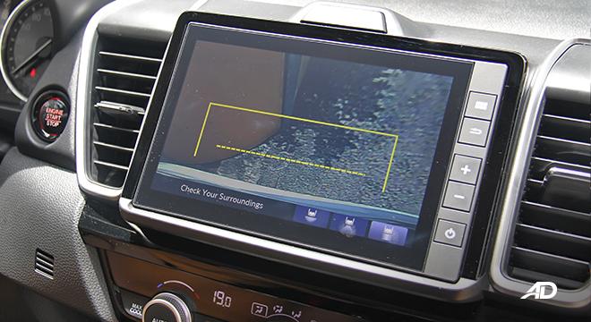 2021 Honda City V interior reversing camera Philippines