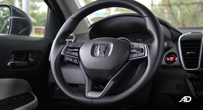 2021 Honda City V interior steering wheel Philippines