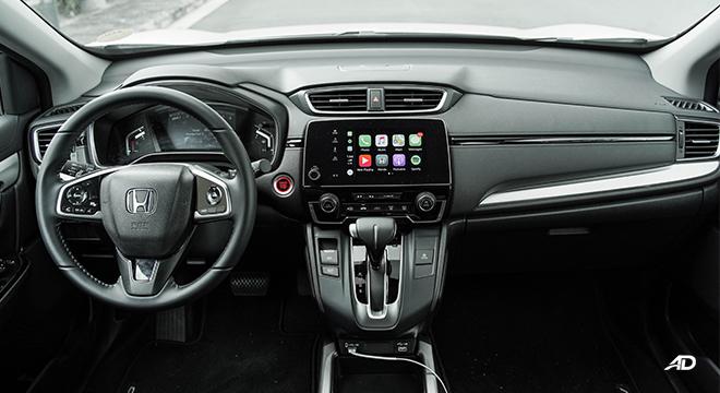 2021 Honda CR-V 2.0 S CVT test drive dashboard