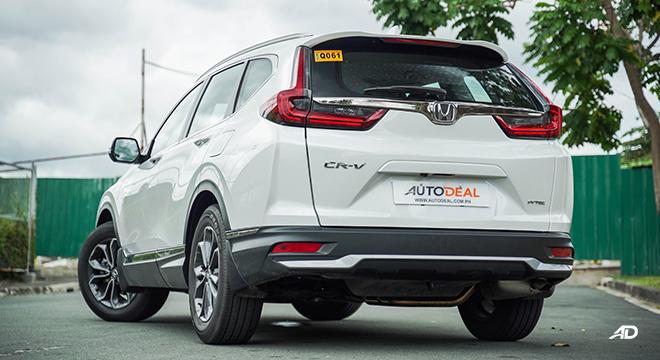 2021 Honda CR-V 2.0 S CVT test drive rear quarter